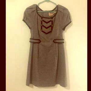 Grey Wool Juicy Couture Dress